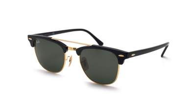 Ray-Ban Clubmaster Double Bridge Noir RB3816 901 51-21 81,58 €