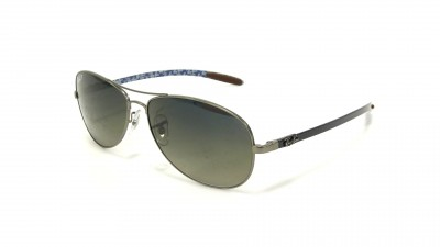 Ray-Ban Fiber Carbon Grey RB8301 029/98 59-14 Polarisés 120,83 €