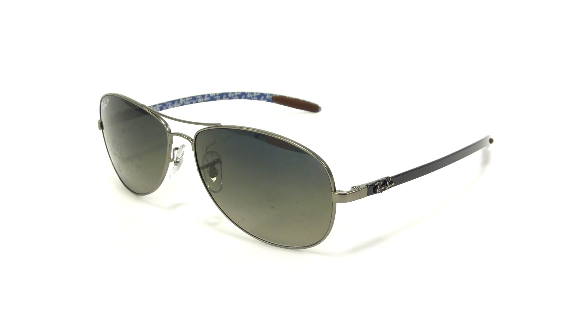 ray ban 8301  Ban Fibre Carbon Grey RB8301 029/98 59-14 Polarized
