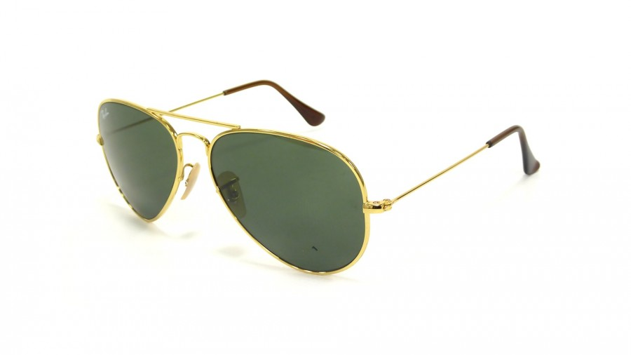 Ray-Ban Aviator Titanium Or RB8041 001 58-14 France f7d682160796
