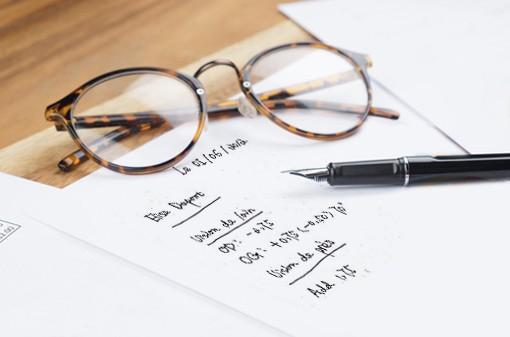 Savoir lire et comprendre son ordonnance grâce aux opticiens Visiofactory