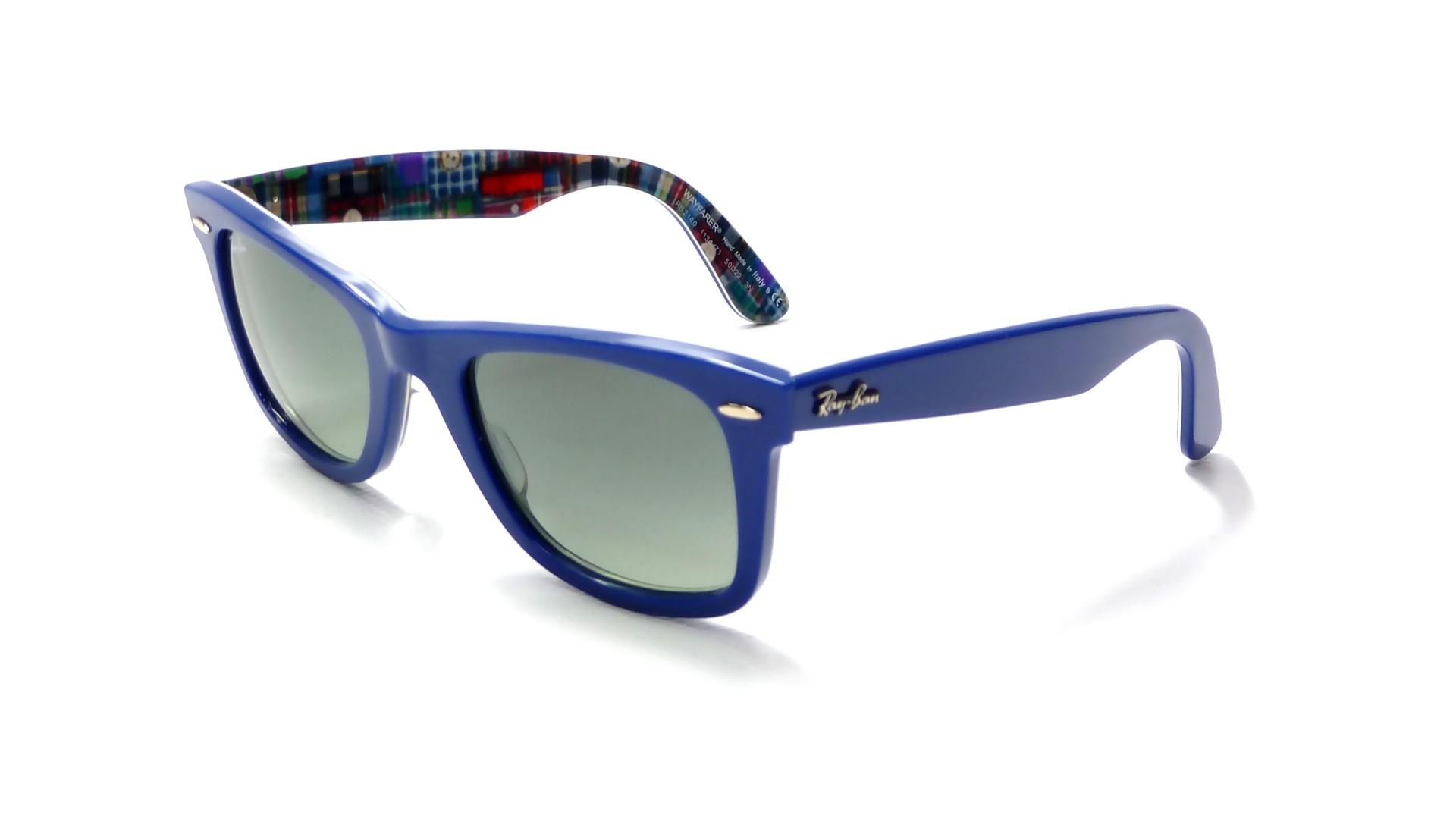 Lunette Ray Ban Clubmaster Bleu