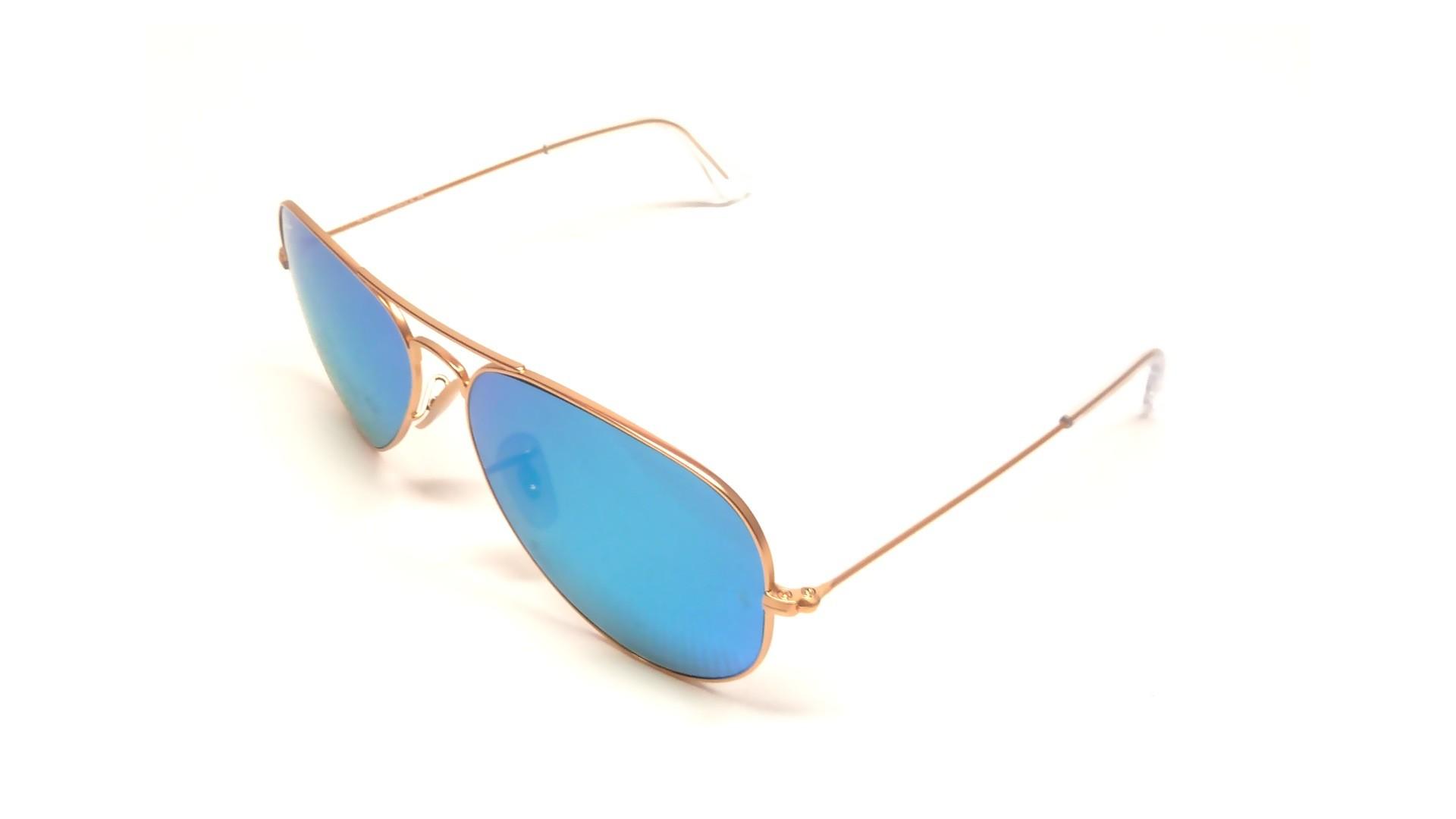 Lunettes de soleil ray ban aviator femme miroir argoat for Lunettes de soleil ray ban aviator miroir