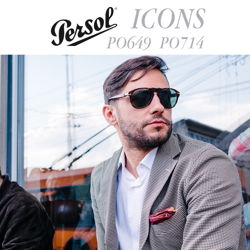 Persol Sunglasses Icons PO649 PO714
