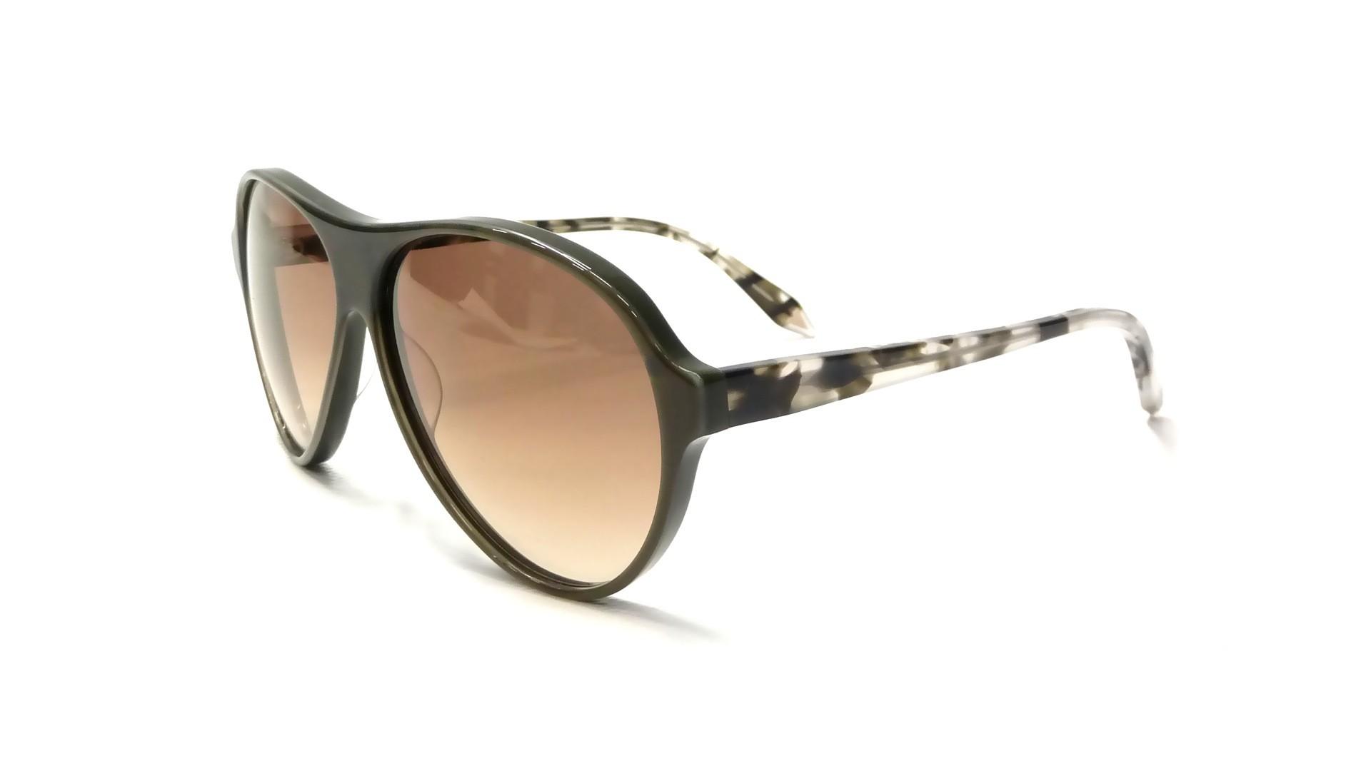 Glasses Frames Recto Or Quiapo : Sun glasses Victoria Beckham Feminine Aviator VB0232 Olive ...