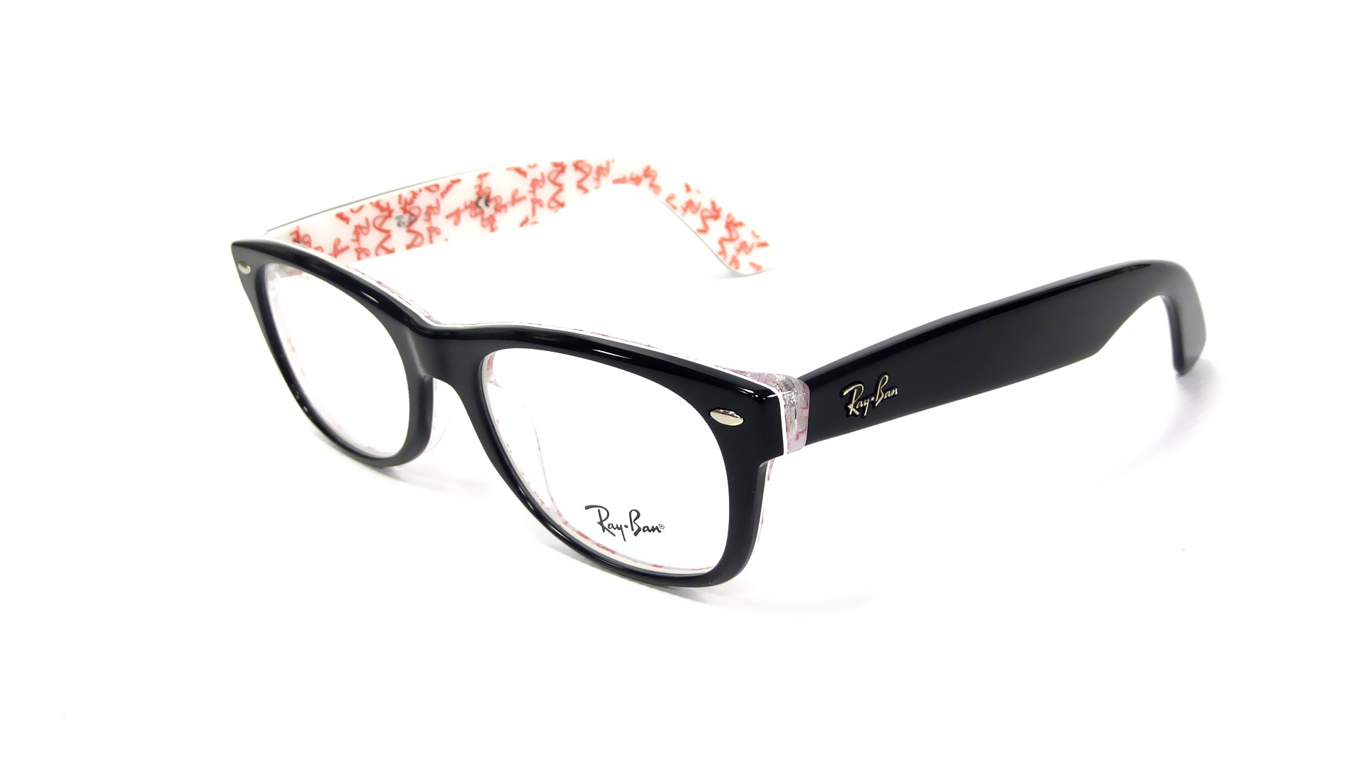 Glasses Frames Recto Or Quiapo : Ray Ban New Wayfarer RX RB 5184 5014 Black and Pattern Medium