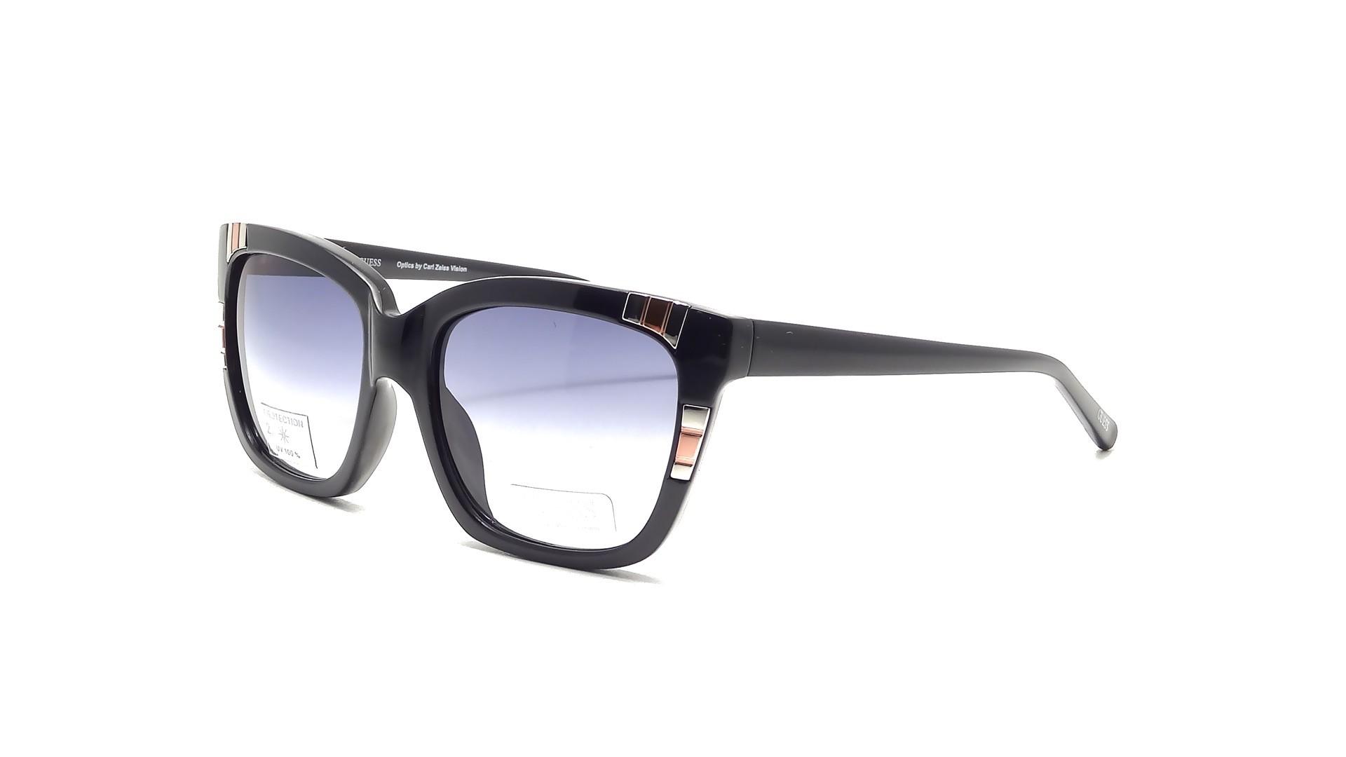 Glasses Frames Recto Or Quiapo : Sun glasses Guess GU 7270 BLK 35 Black Shading Lenses Medium