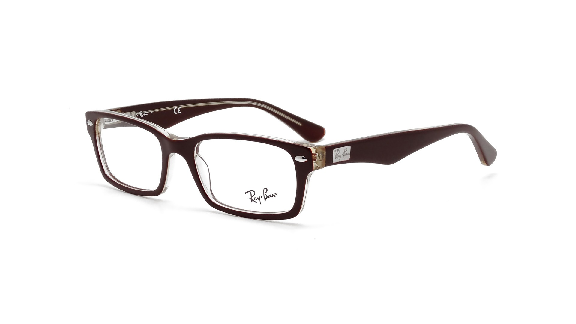 Glasses Frames Recto Or Quiapo : Eye glasses Ray Ban RX RB 5206 5372 Brown Medium