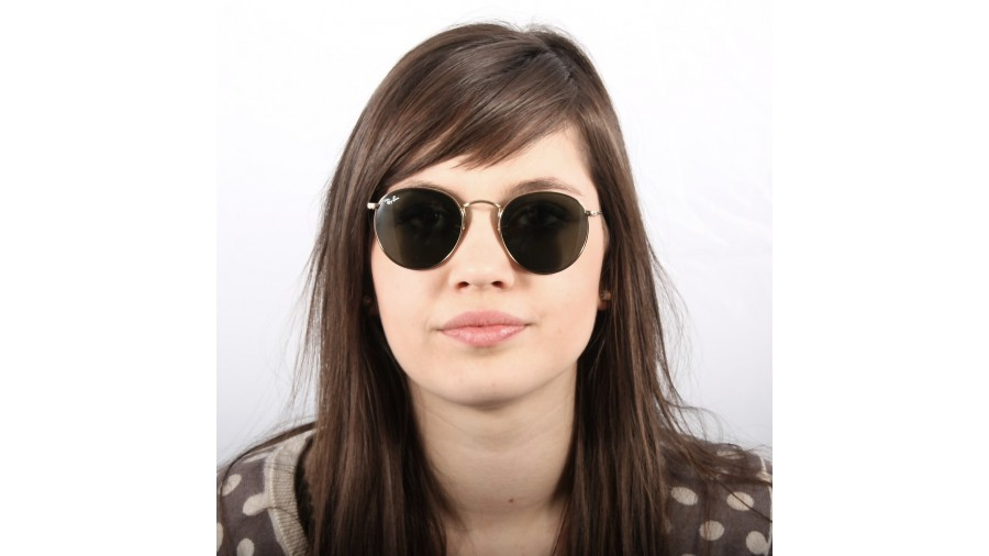 5221c3202e Ray-ban 3447 Round Metal Gold 001