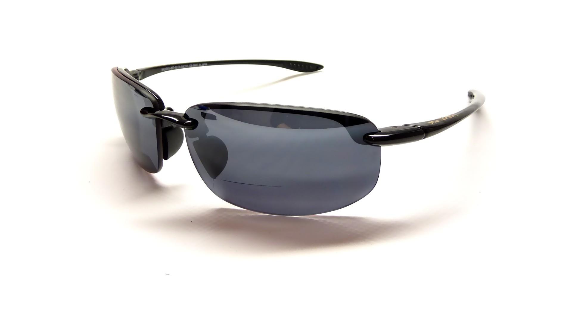 e759a6b710b9fe Sunglasses Maui Jim Ho Okipa Black MauiReader G807-02 +2.0 Polarized  sunglasses