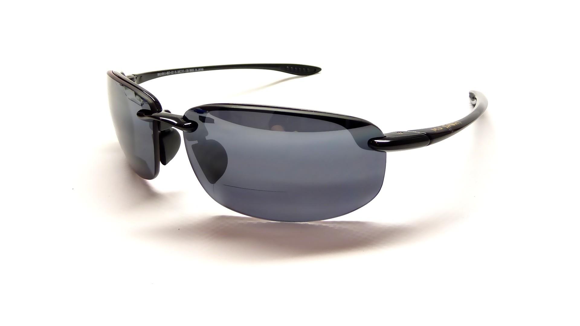 Lunettes de soleil Maui Jim Ho Okipa Reader Noir G807-02 +1.5 verres  Polarisés 8fc81d882ebd