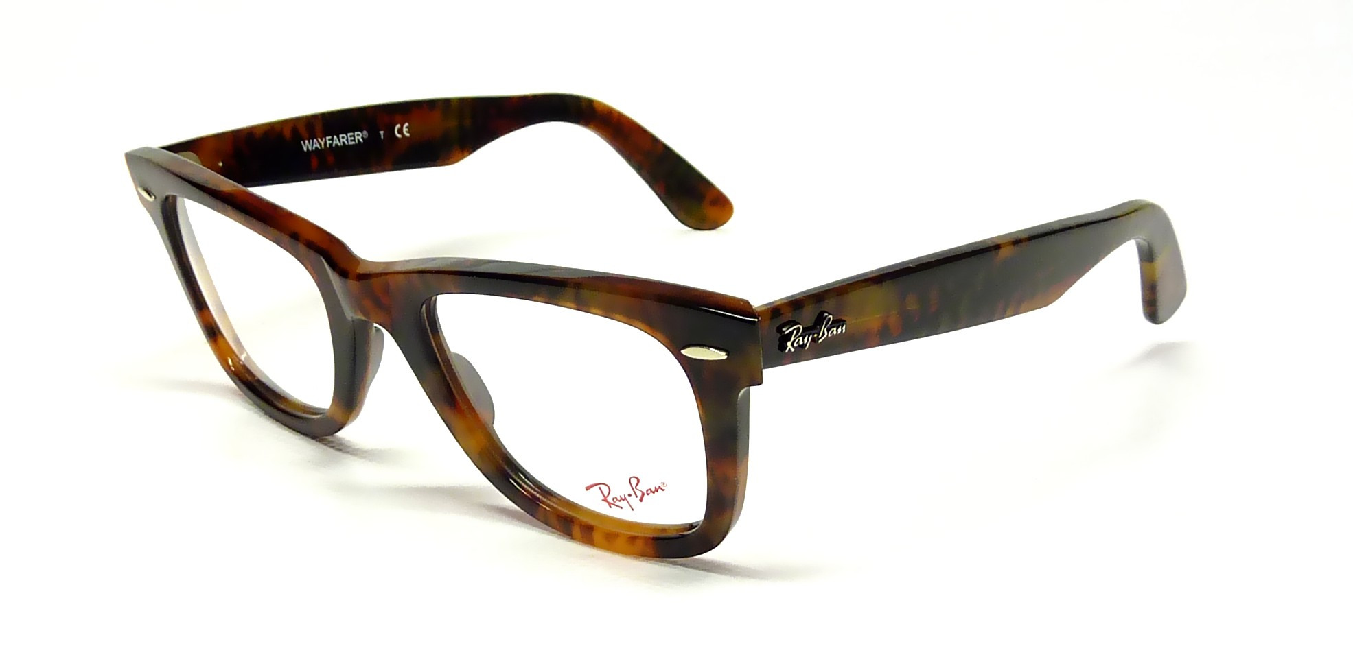 Eyeglasses Ray-Ban Original Wayfarer Tortoise RX5121 RB5121 2291 50-22  Medium 27d072db9591