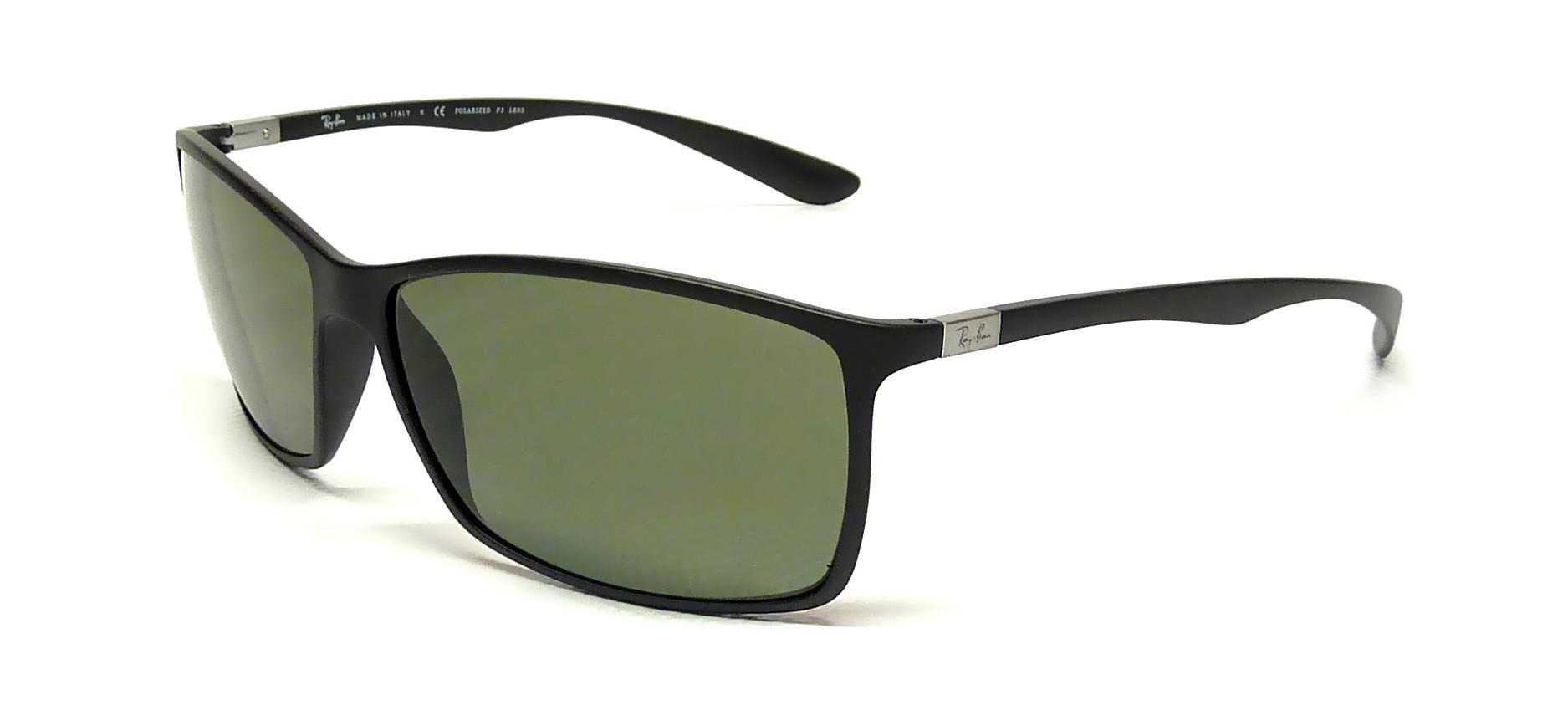 45a92a3b50 ... large mirror a81b3 f0cc3  authentic sunglasses ray ban tech liteforce  black rb4179 601s 9a 62 polarized 84a47 e22bc