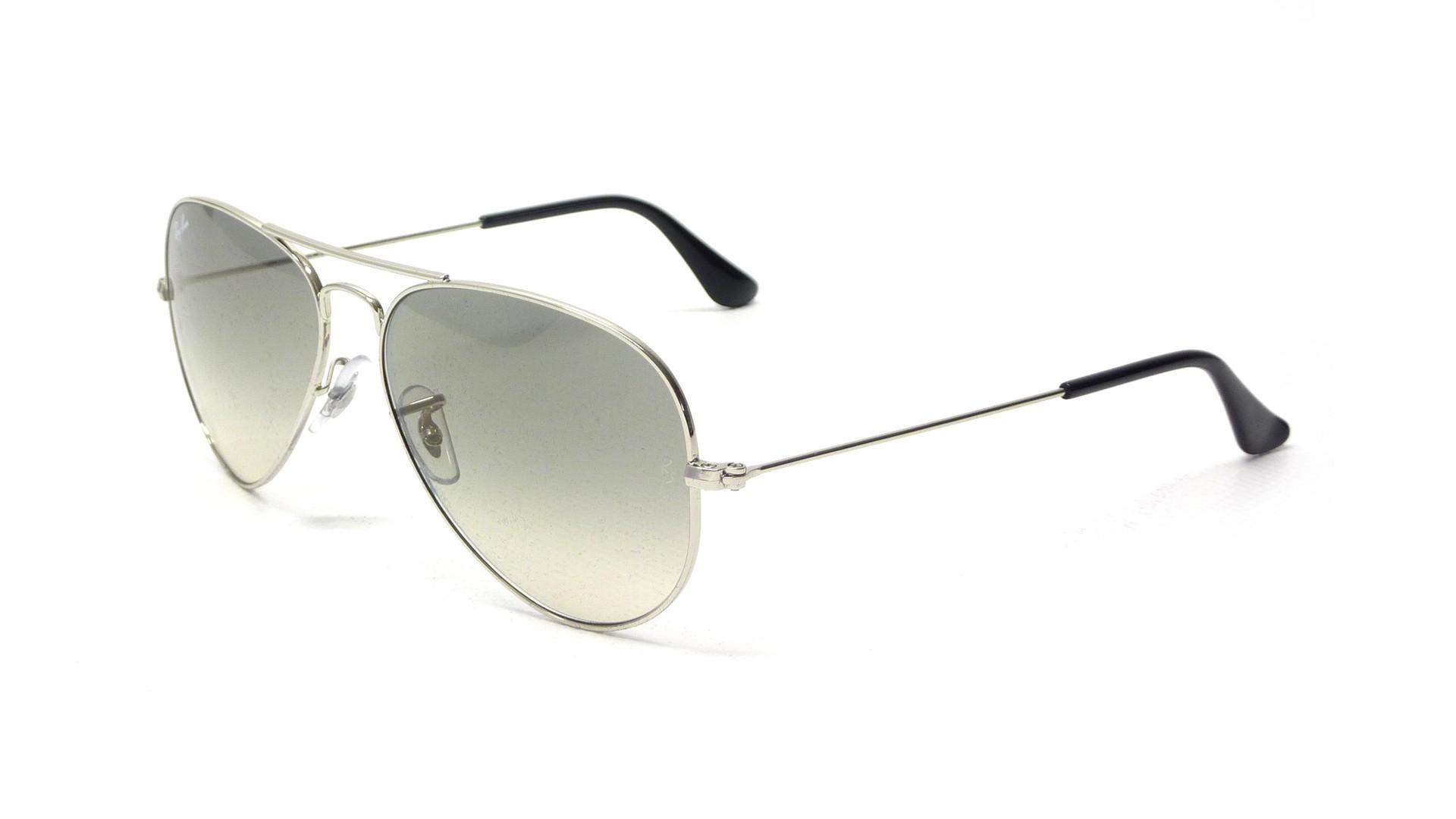 2ed23bde0b899f Ray-Ban Aviator Metal Silber RB3025 003/32 58-14 | Price 87,42 € |  Visiofactory