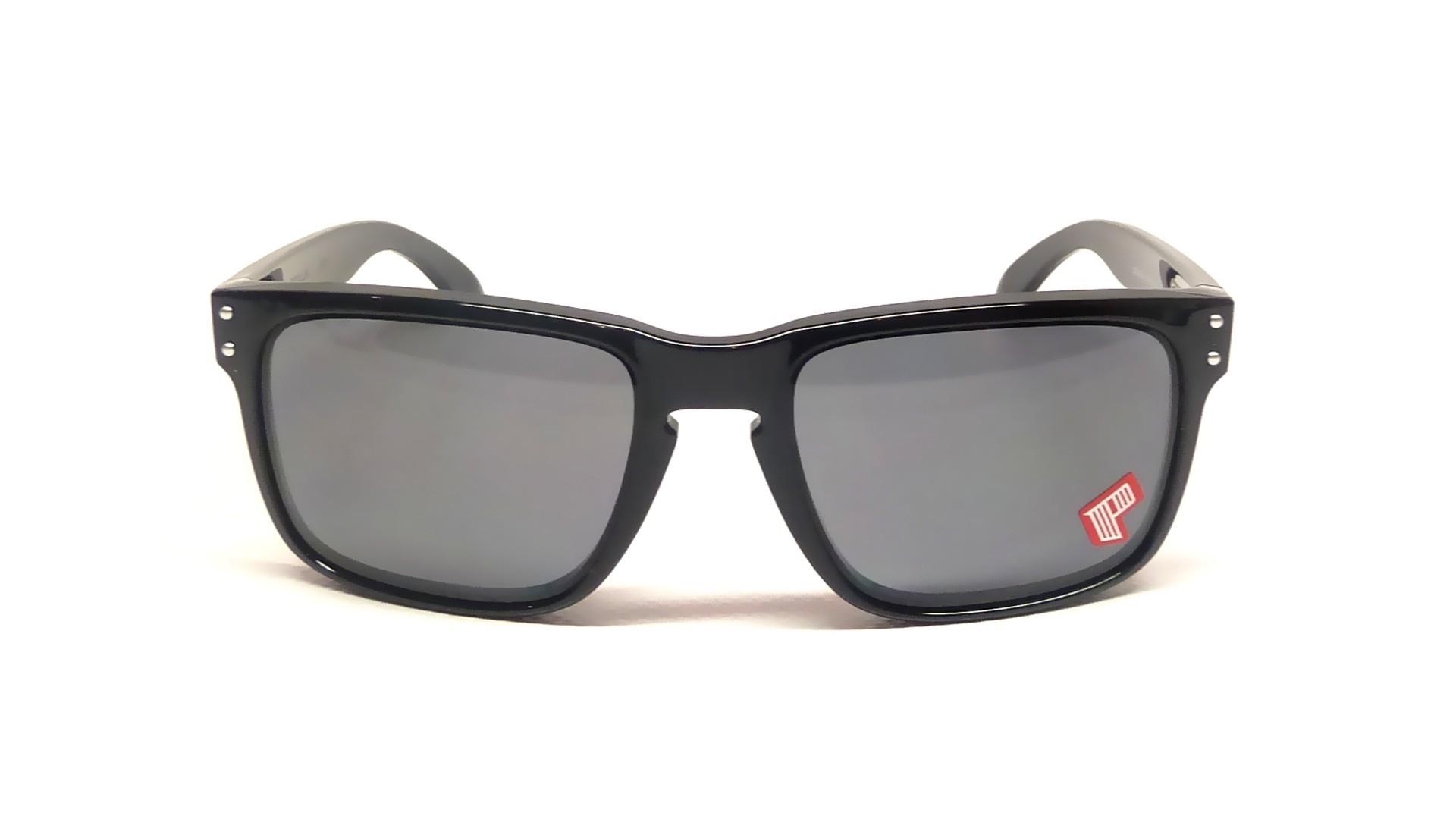67ea8c474a Sunglasses Oakley Holbrook Black OO9102 02 55-18 Large Polarized