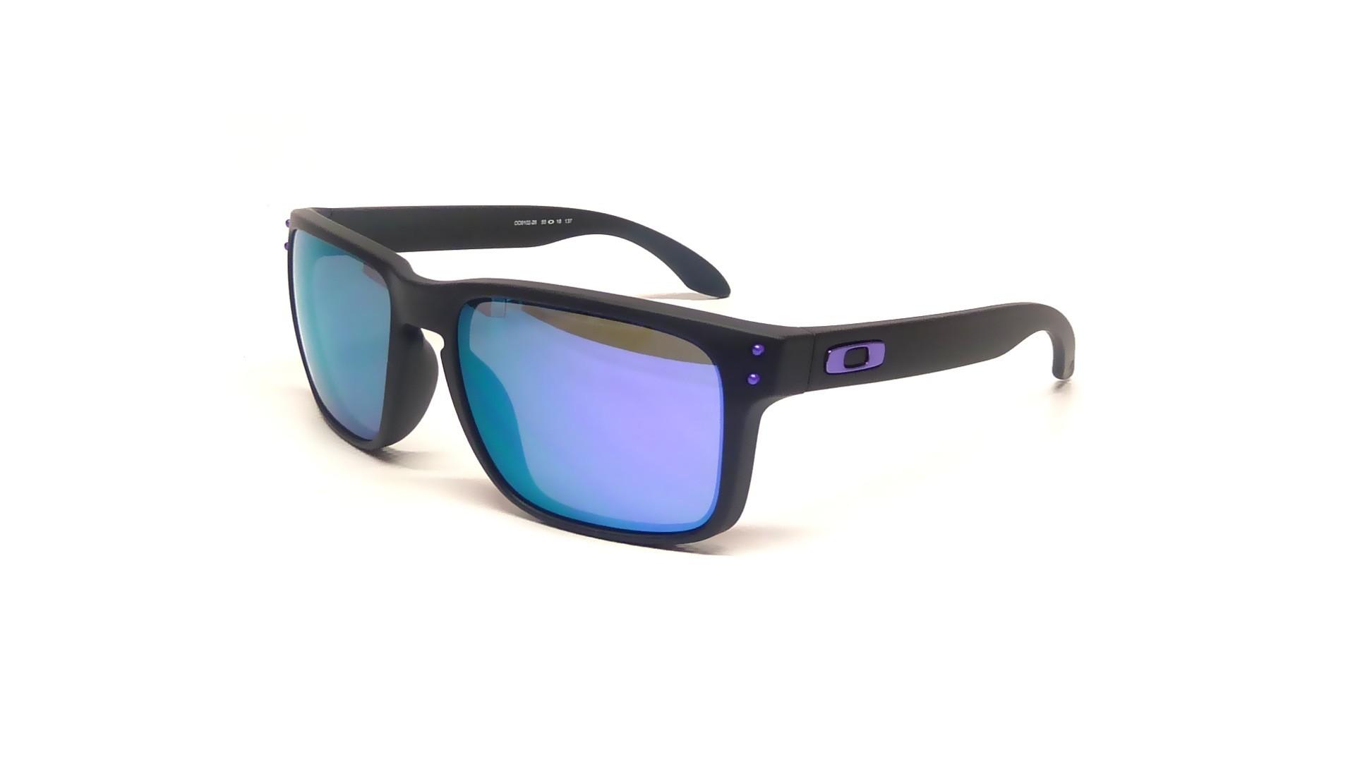 bb728c3a4b Sunglasses Oakley Holbrook Black OO9102 26 55-18 Medium Mirror