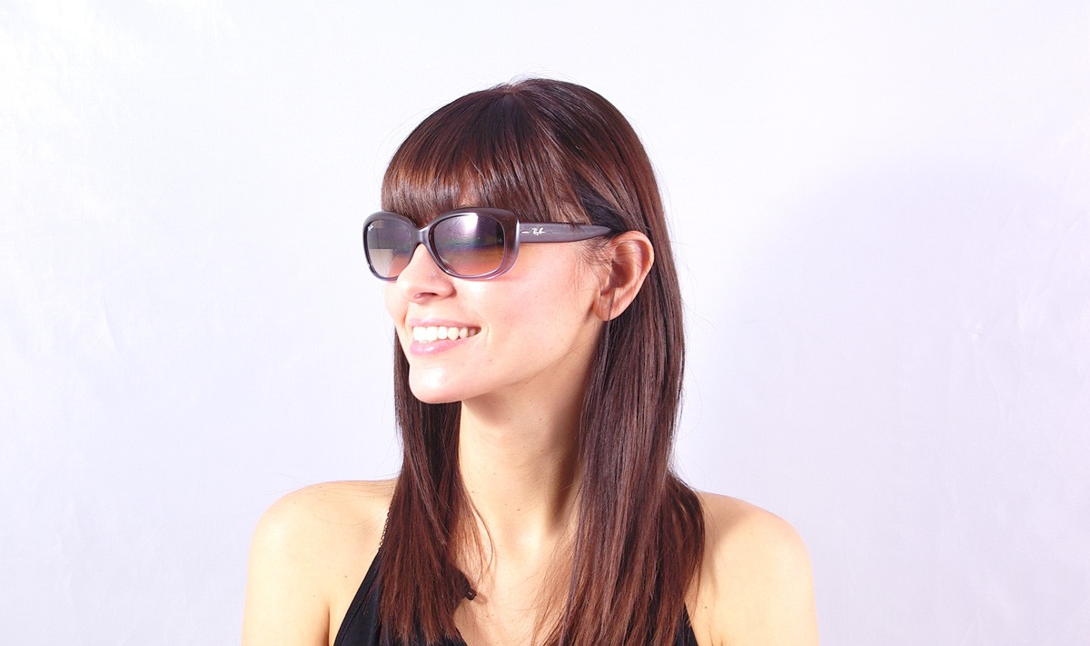 d80de8870f Sunglasses Ray-Ban Jackie Ohh Brown RB4101 860 51 58-13 Large Gradient