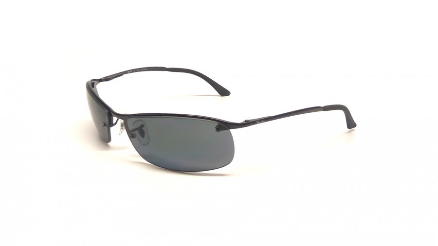 Ray Ban Top Bar RB3183 002/81 63 black / polar grey JtuXto1J9B