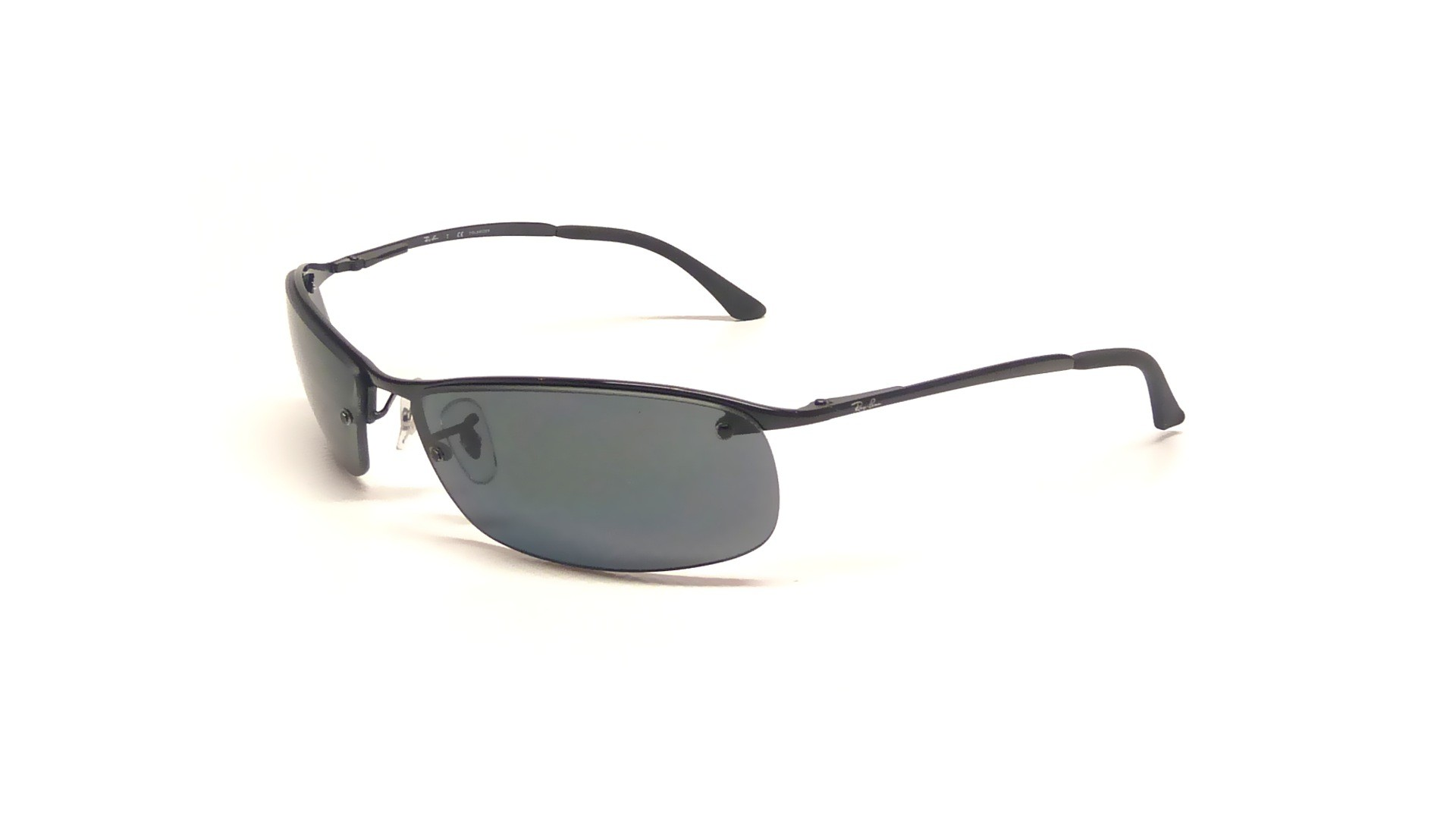 45d70c584f Sunglasses Ray-Ban RB3183 002 81 63-15 Black Large Polarized
