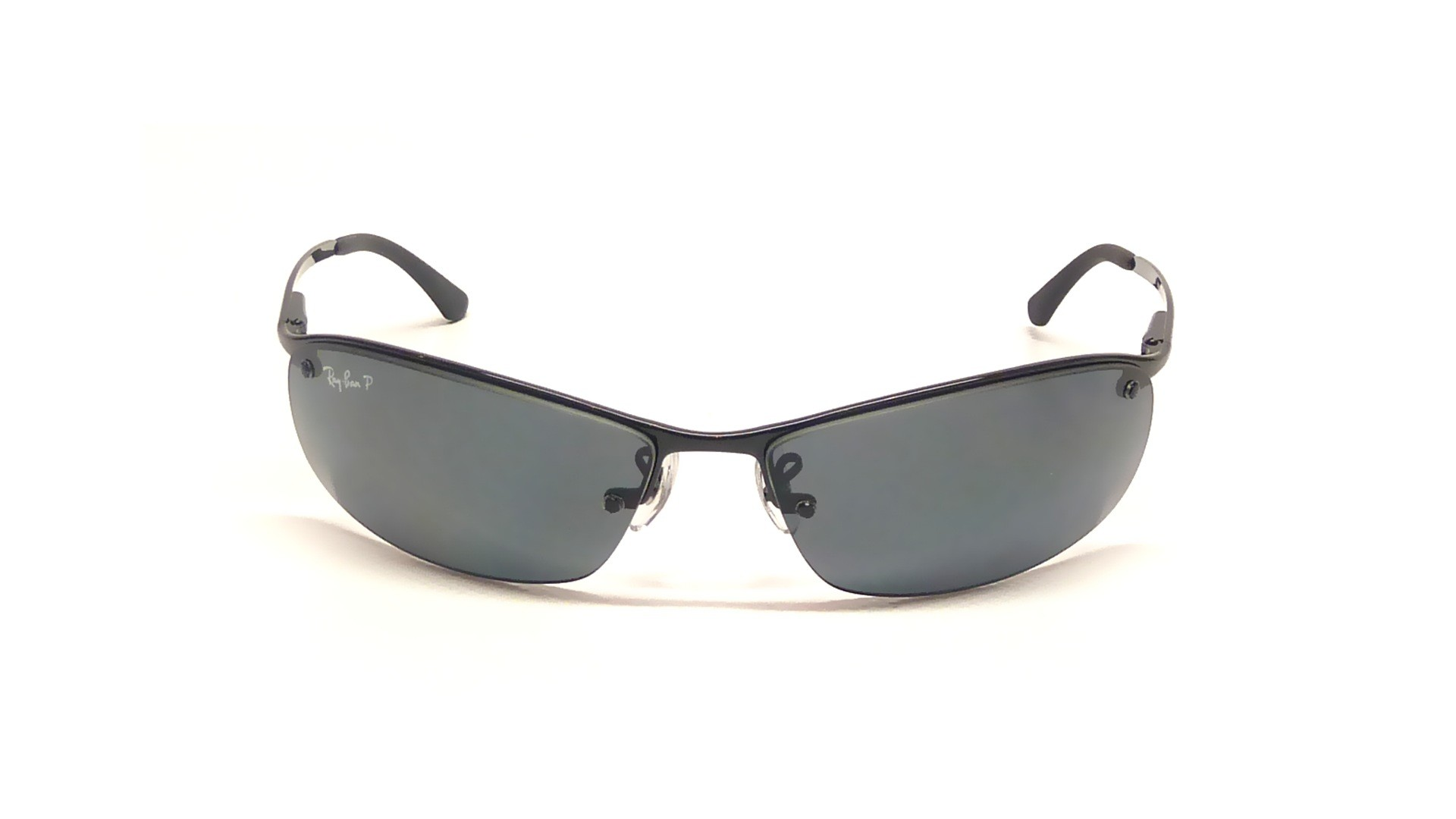 ba7e000ba7dc4f Sunglasses Ray-Ban RB3183 002 81 63-15 Black Large Polarized