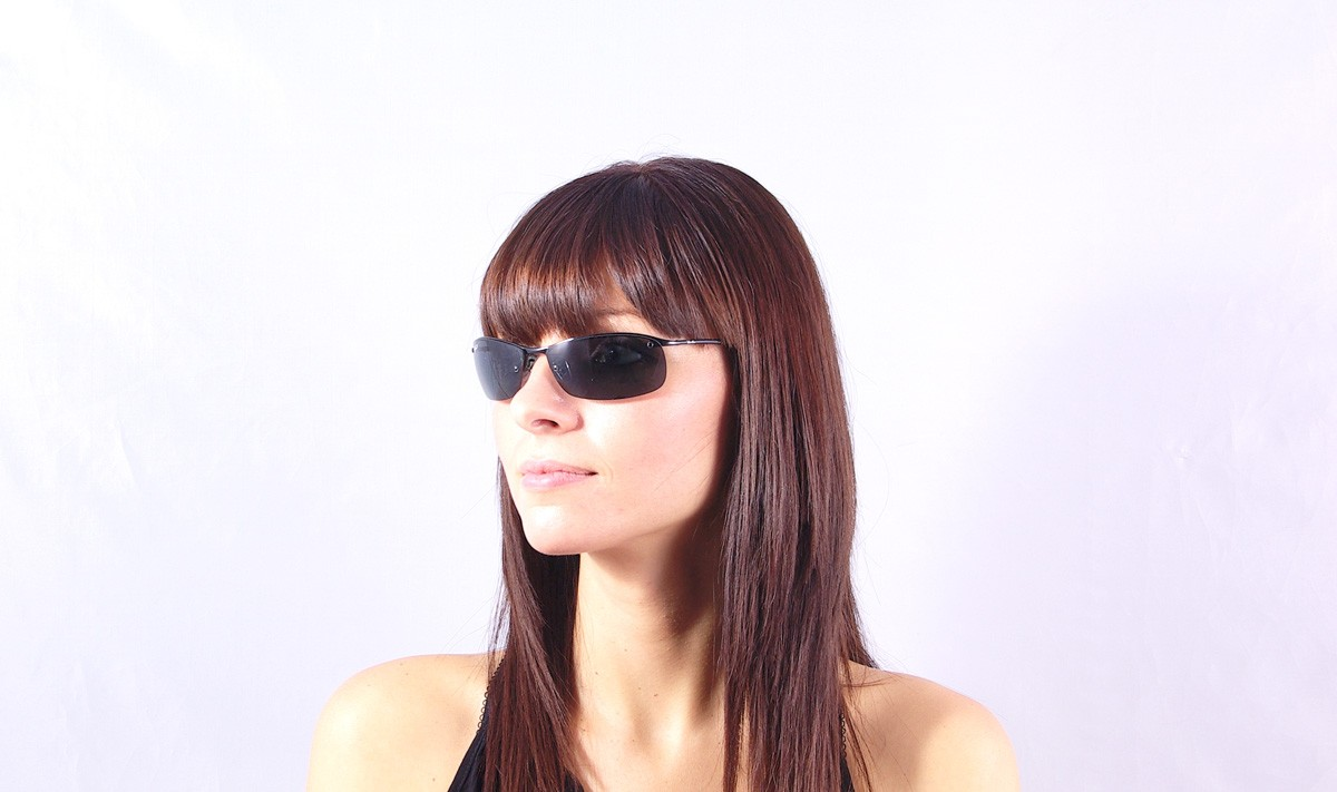 866626ab461 Sunglasses Ray-Ban RB3183 002 81 63-15 Black Large Polarized