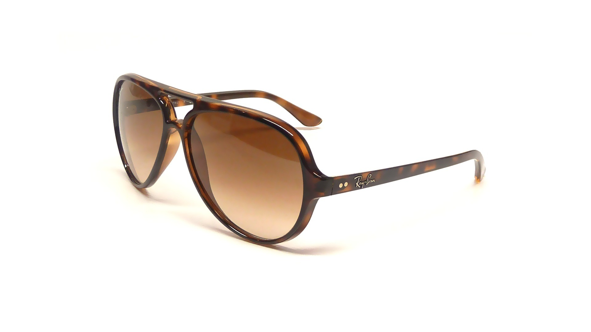 75b43423a11 Ray-Ban Cats 5000 Tortoise RB4125 710 51 59-15