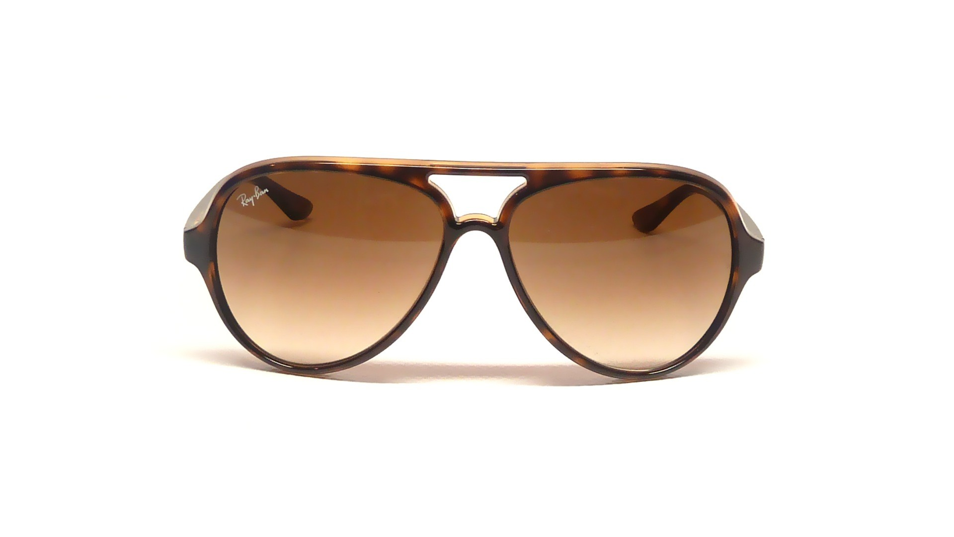 28a4b4204e Sunglasses Ray-Ban Cats 5000 Tortoise RB4125 710 51 59-15 Large Gradient