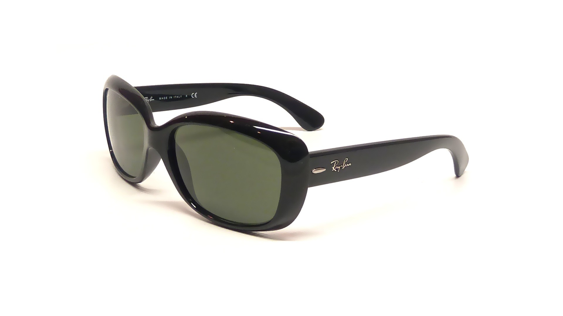 c41686eb449a9 Sunglasses Ray-Ban Jackie Ohh Black RB4101 601 58-17 Large