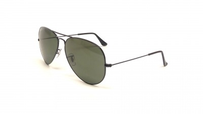 Ray-Ban Aviator Large Metal Black RB3025 002 58 62-14 Polarized 95 a5f048e71032