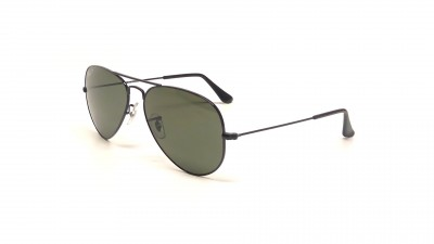 Ray-Ban P Aviator Large Metal Noir RB3025 002/58 55-14 Polarisés 95,79 €