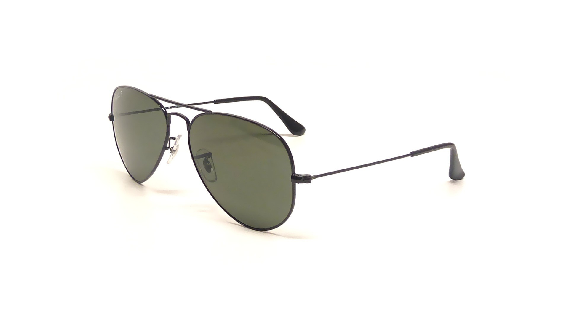 800f043c36 Sunglasses Ray-Ban Aviator Large Metal Black RB3025 002 58 55-14 Small  Polarized