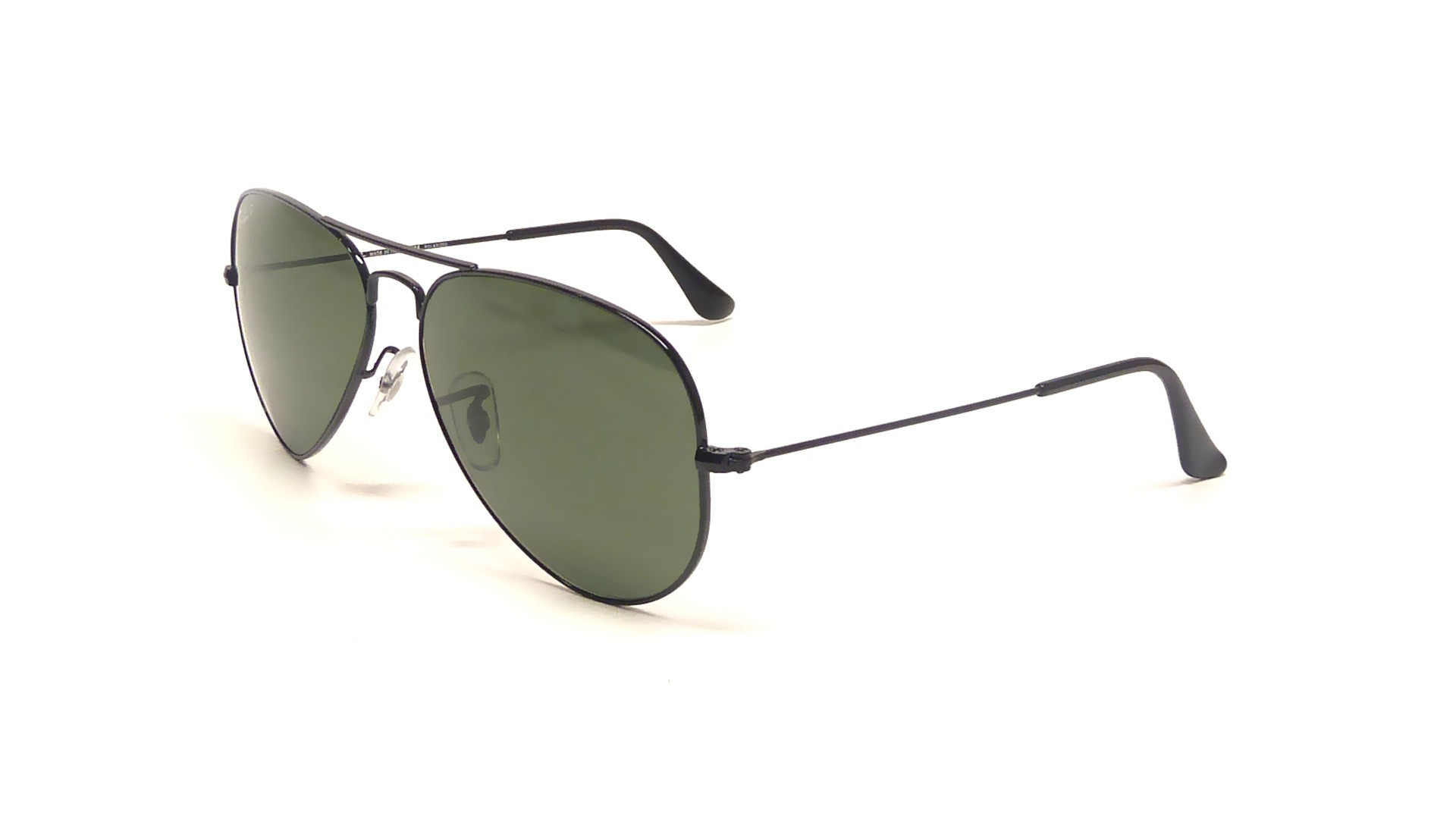 d375491eed0 Sunglasses Ray-Ban Aviator Large Metal Black RB3025 002 58 58-14 Medium  Polarized