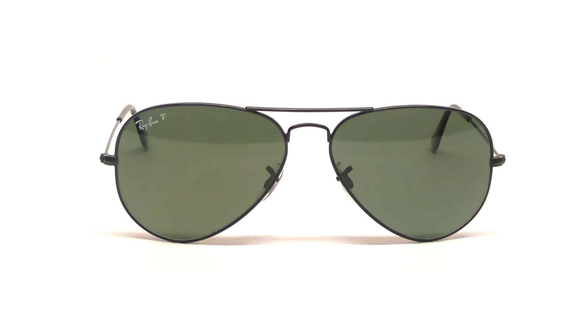 60bb7420c383b9 Sunglasses Ray-Ban Aviator Large Metal Black RB3025 002 58 58-14 Medium  Polarized