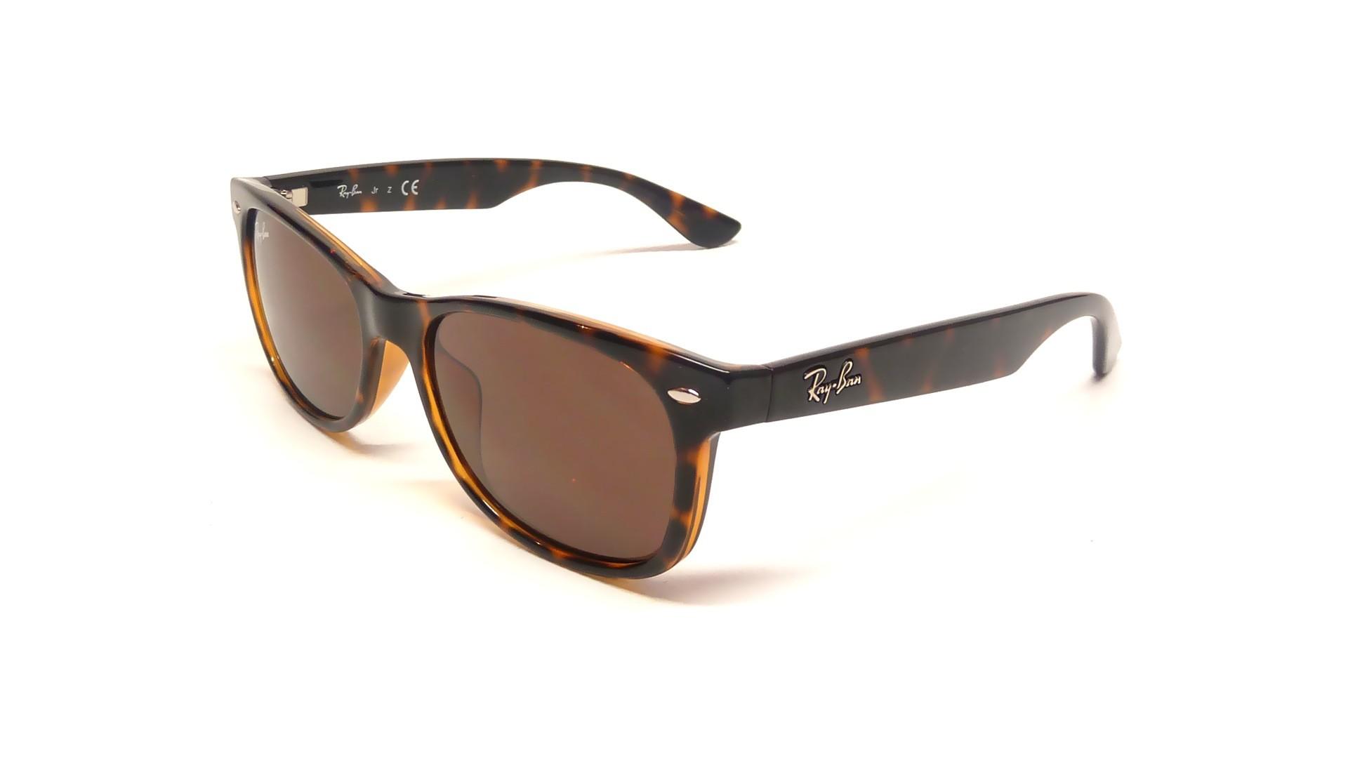 46b9fe3e8cf22 Sunglasses Ray-Ban Wayfarer Tortoise RJ9052S 152 73 47-15 Small
