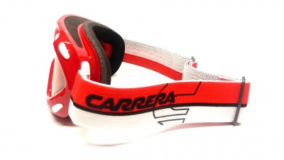 Lunettes de soleil Carrera M00124 Kimerik Collection Race 3BY 4L Rot polarisiert Gläser