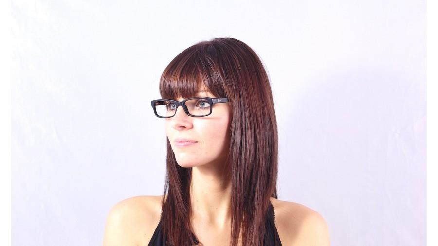 60bda3d607 Eyeglasses Ray-Ban RX5187 RB5187 2000 52-16 Black Large