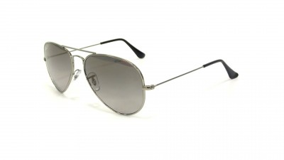 60e87f8fe3c95 ... inexpensive ray ban aviator titanium silver rb8041 086 m3 58 14  polarized 13cd6 eb545
