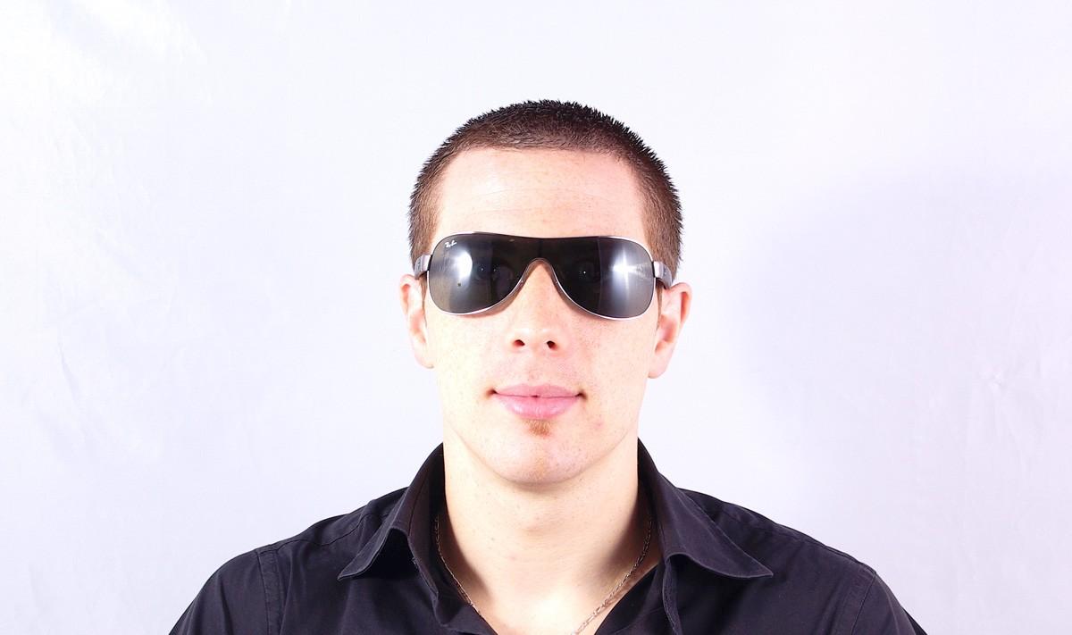 53c1d31fcd Sunglasses Ray-Ban Mask Emma Black RB3471 004 71 32 Small