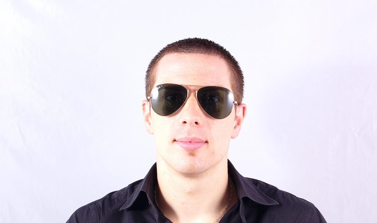 7931c97f6e Sunglasses Ray-Ban Aviator Large Metal Gold RB3025 001 58 62-14 Large  Polarized