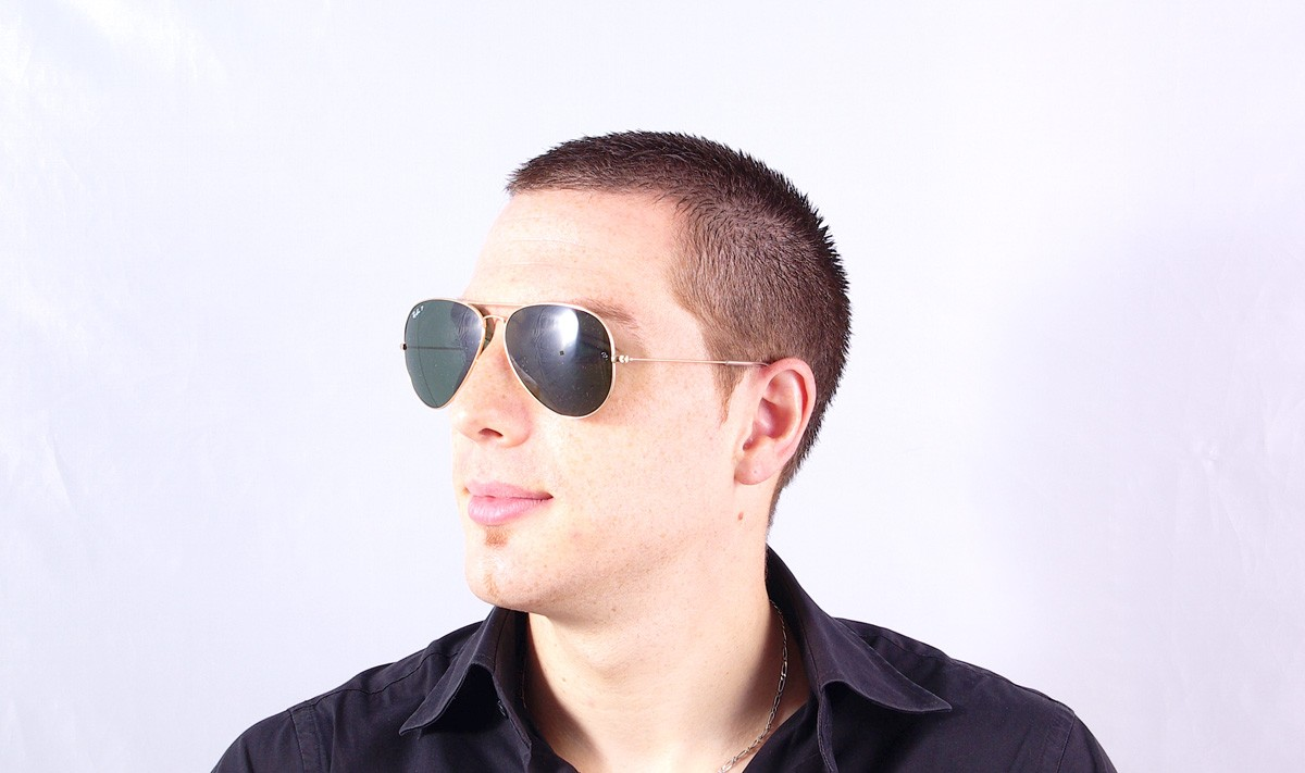 ray ban aviator homme taille 58