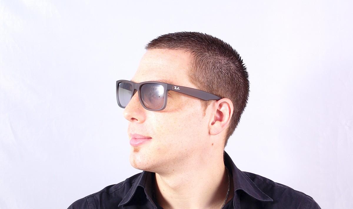106d0c7804303 ... canada sunglasses ray ban justin brown rb4165 854 7z 55 16 medium  gradient df567 e9961