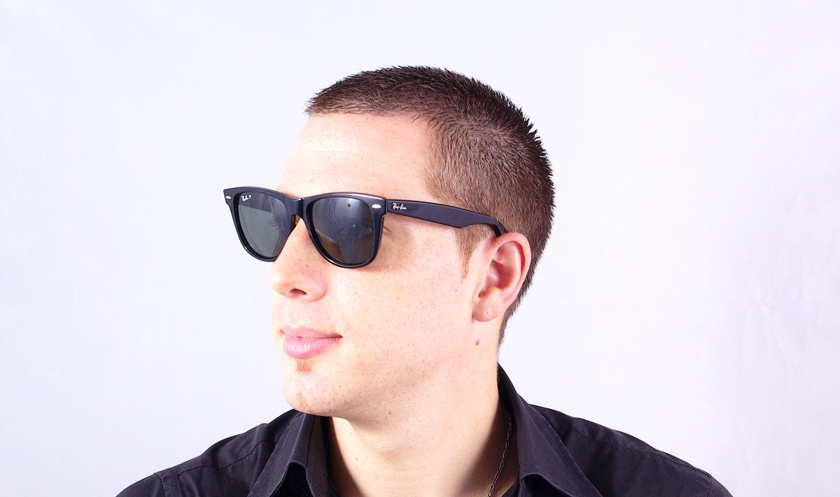 b3882541399cb Sunglasses Ray-Ban Original Wayfarer Black RB2140 901 58 54-18 Large  Polarized