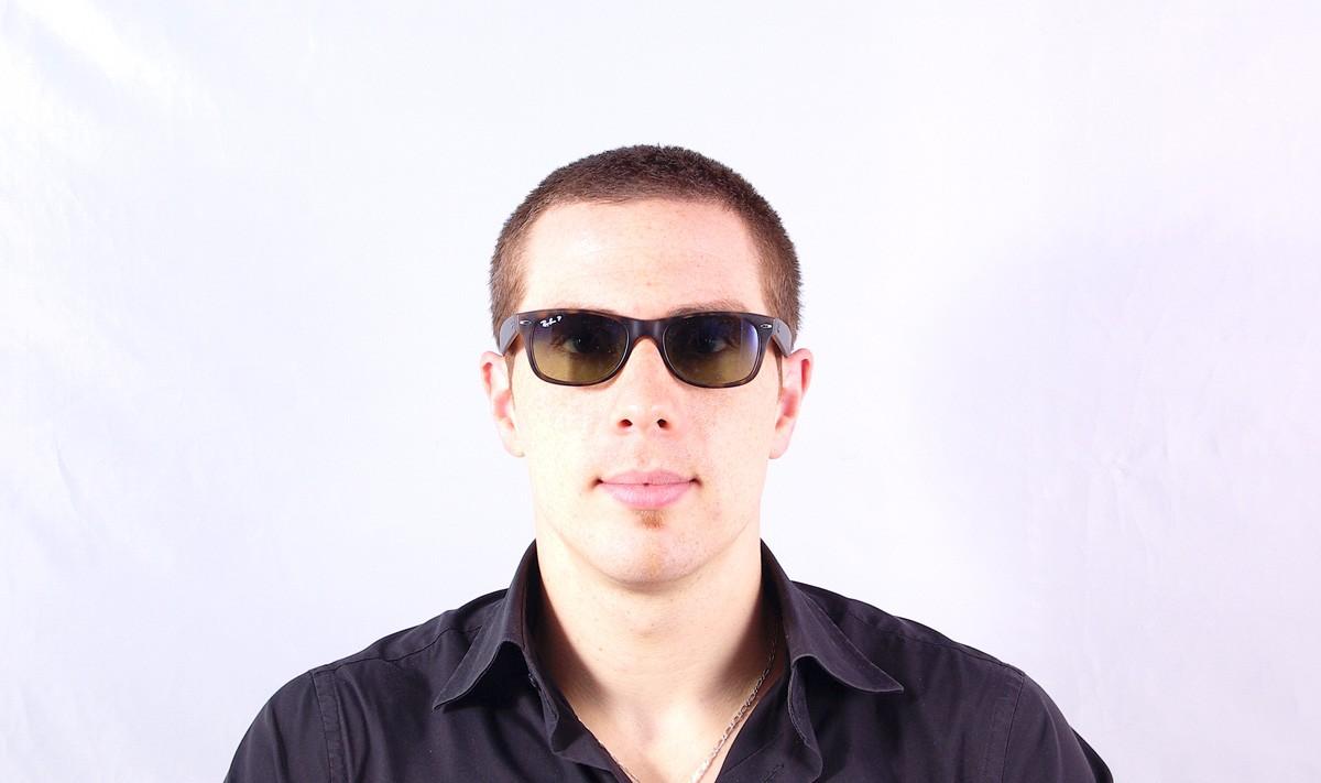 9e273038ab Sunglasses Ray-Ban New Wayfarer Tortoise RB2132 894 76 52-18 Small Polarized  Gradient