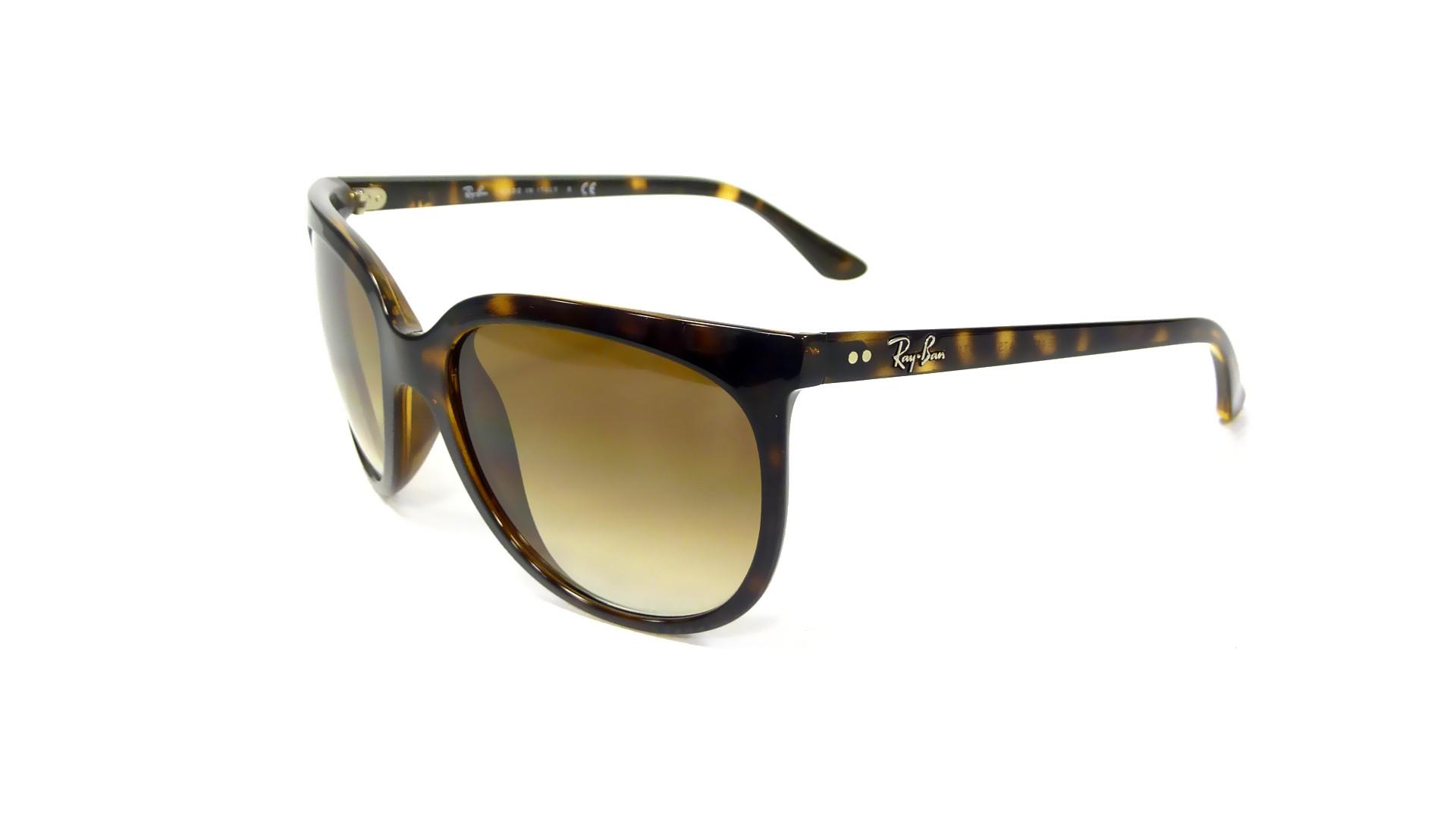 f03d5480e18b1c Sunglasses Ray-Ban Cats 1000 Tortoise RB4126 710 51 57-20 Large Gradient