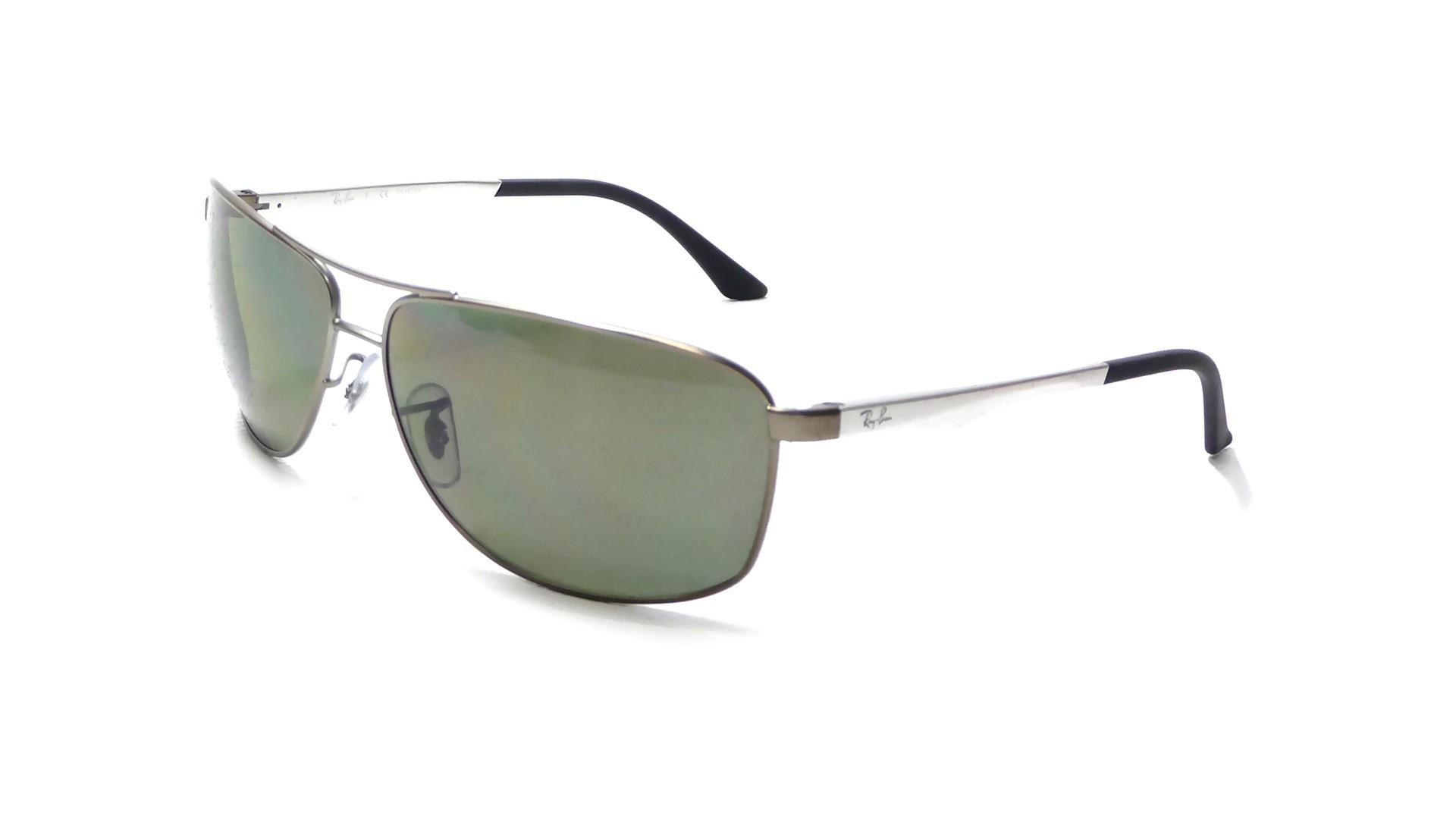 c721cb03dd Sunglasses Ray-Ban RB3506 029 9A 64-13 Silver Large Polarized