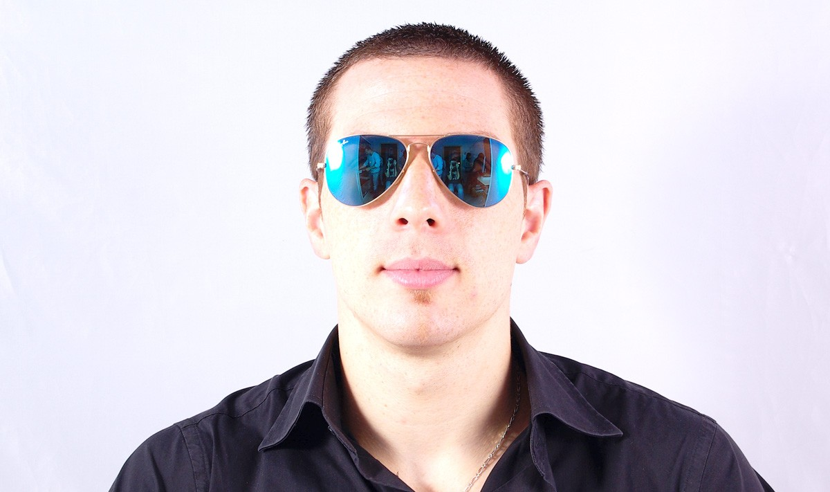 40e28638c4ceb4 Sunglasses Ray-Ban Aviator Large Metal Gold RB3025 112 17 55-14 Medium  Mirror