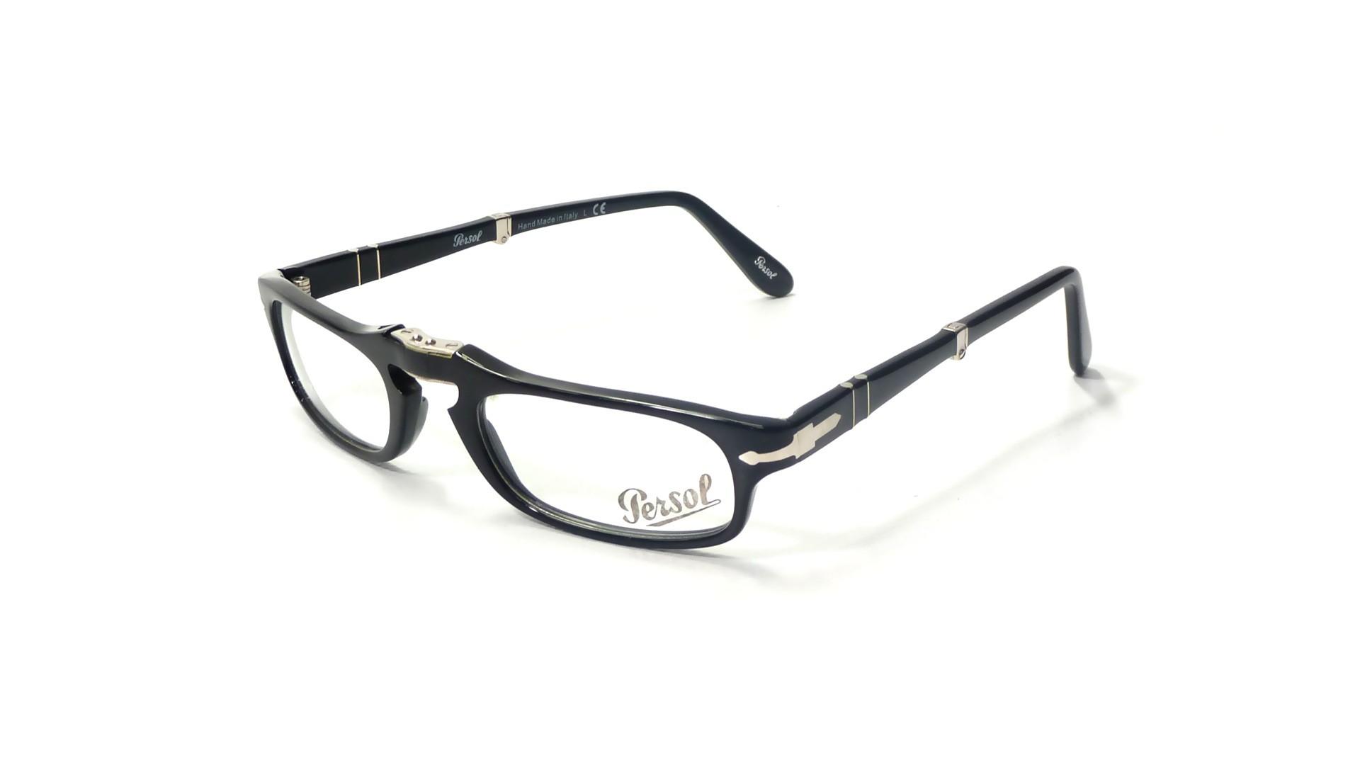 7a04dfb776 Eyeglasses Persol PO2886V 95 51-22 Black Medium Folding