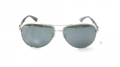 9768c08a37b3f Sunglasses Ray-Ban Fibre Carbon Silver RB8313 003 40 61-13 Large Mirror