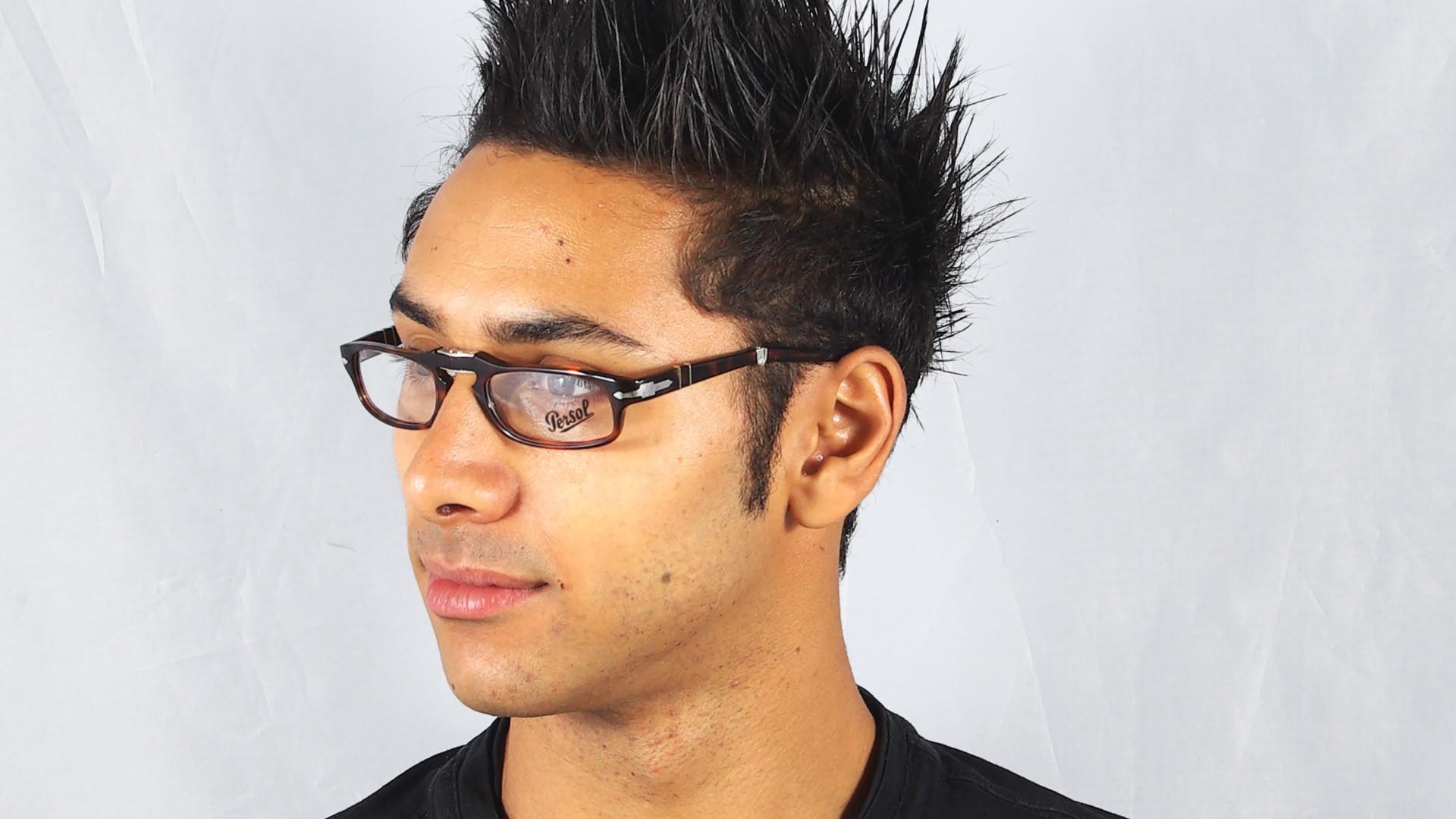 4c182aaa68c5b Eyeglasses Persol PO2886V 24 51-22 Tortoise Medium Pliantes