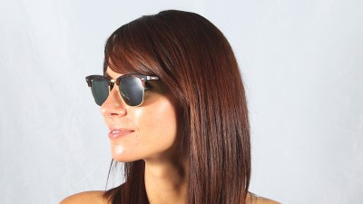 Ray-Ban Clubmaster Tortoise RB3016 W0366 49-21